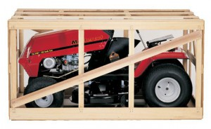 mower crated
