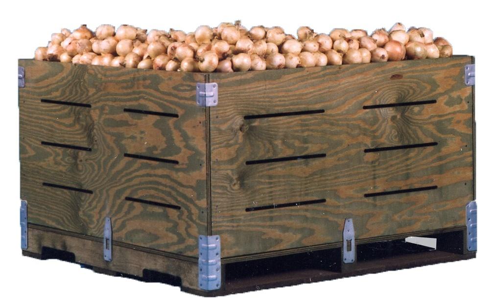 onion bin  sc 1 st  PalletOne & Custom Wooden Storage Boxes Crates u0026 Bins Aboutintivar.Com